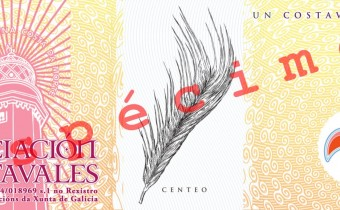 Anverso do billete de 1 costavale (ESPÉCIME)